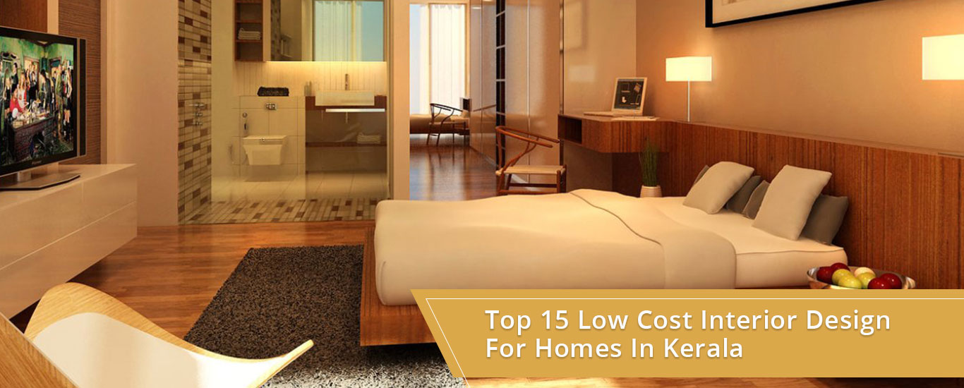 Top 15 low cost interior design for homes in kerala Interiors for homes