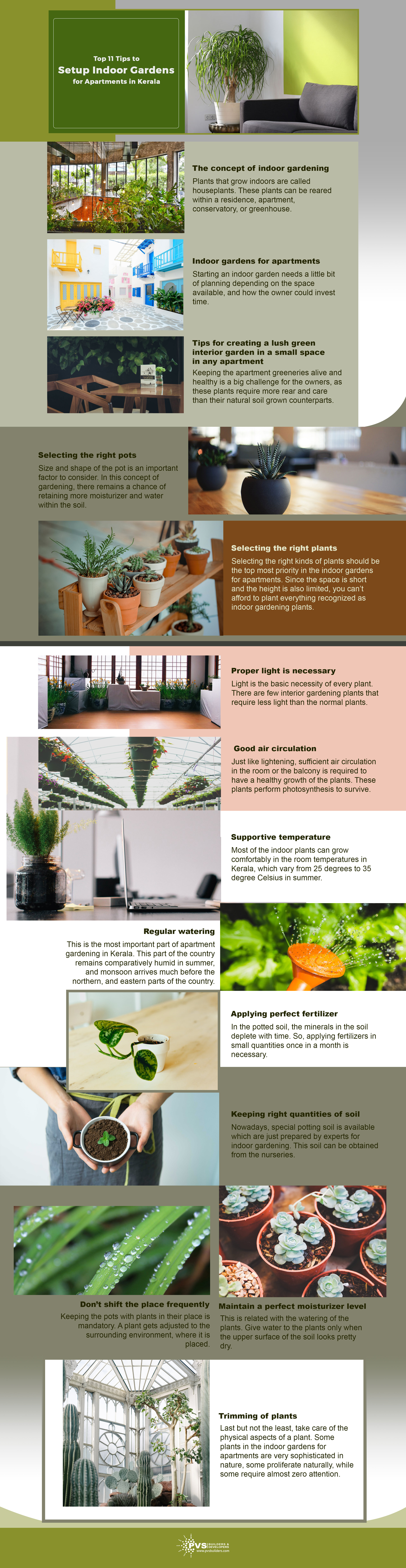Top Tips To Setup Indoor Gardens For Apartments In Kerala