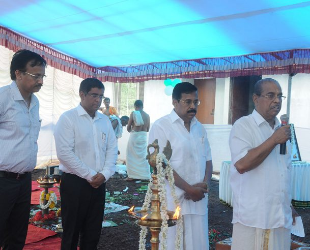 P.V.CHANDRAN,KTC GROUP CHAIRMAN ADDRESSING THE GATHERING 26.06.15