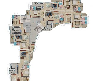 2nd to 7th Floor Plan