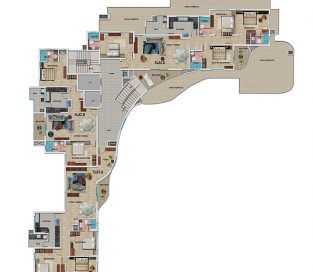8th Floor Plan