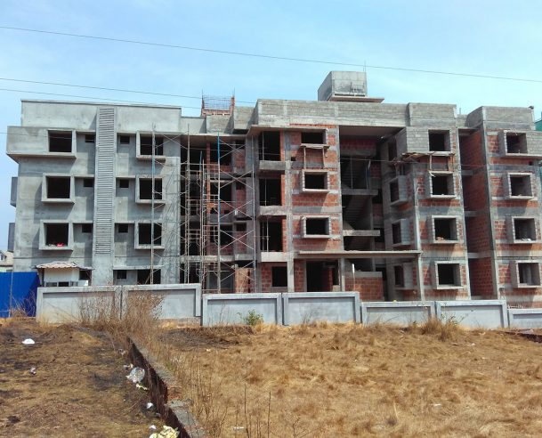 BLOCK A FRONT VIEW AS ON 04/02/2016