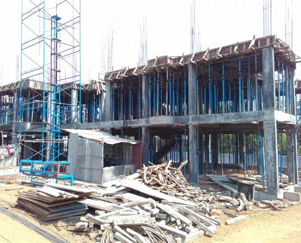 BLOCK C STRUCTURAL SECOND FLOOR COMPLETED - 04/02/2016