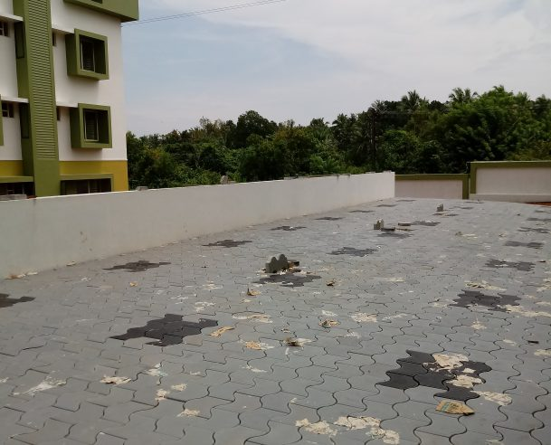 EAST SIDE OF BLOCK A (CAR PARKING AREA) 06.09.2017