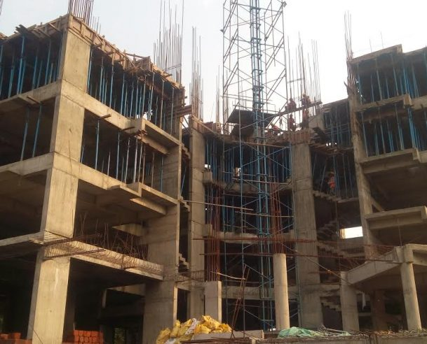 Fourth Floor RCC Columns Completed (01-11-2016)