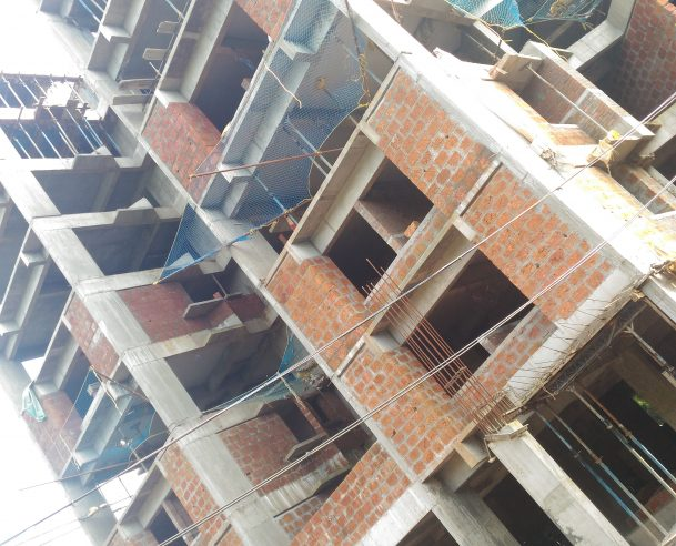 TOWER A - SEVENTH FLOOR STRUCTURAL WORK COMPLETED ON 01-11-2017