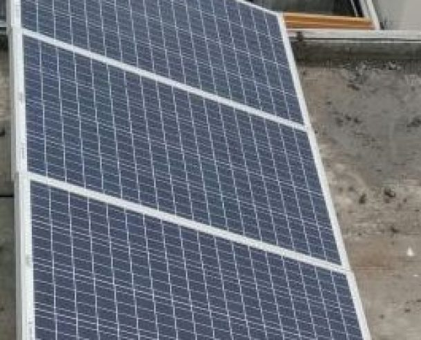 SOLAR PANEL WORK COMPLETED 01.08.17