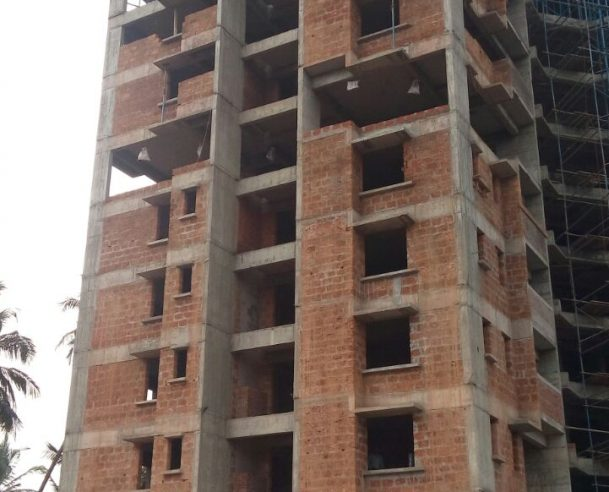 concreting of 10th floor Tower B on Completed on21/2/2017