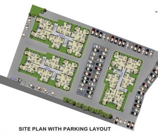 Site Plan with Parking Layout