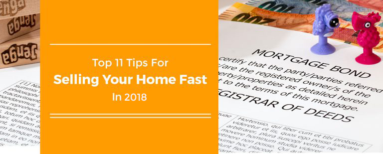 selling home fast in 2018
