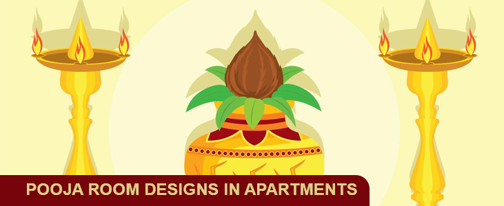 Pooja Room Designs in Apartments