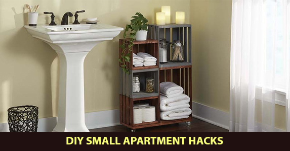 DIY Small Apartment Hacks