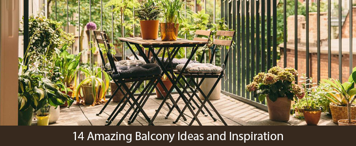 Apartment balcony design ideas