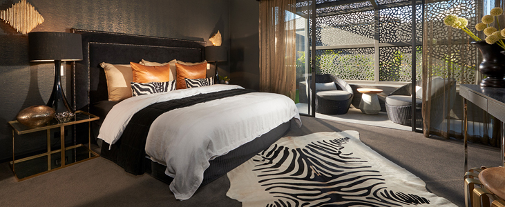 A Look inside the Master Bedroom