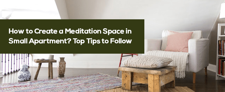 Meditation Space in Small Apartment