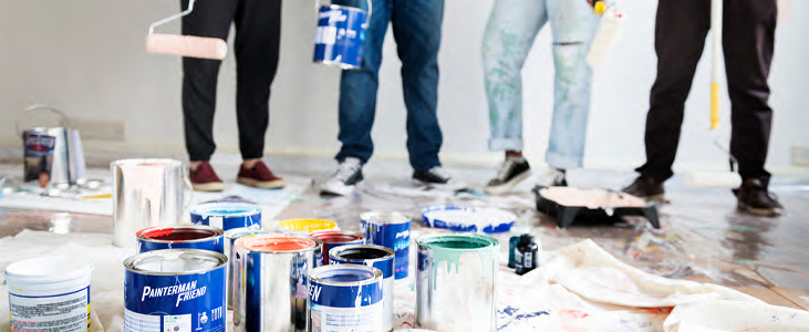 House painting party