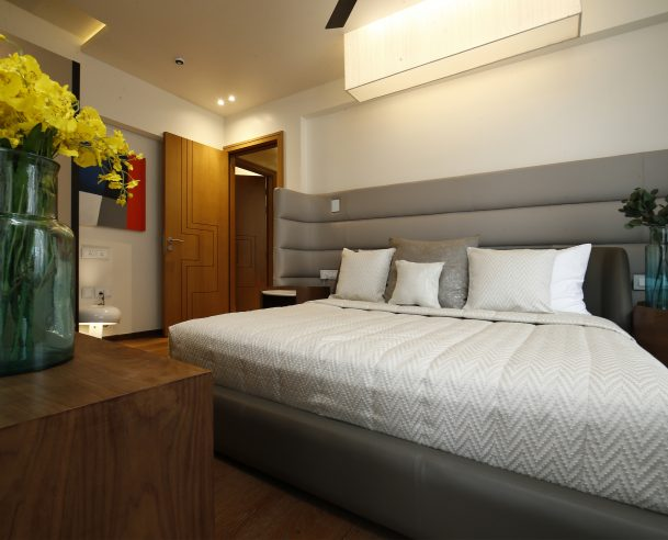 MOCK UP FLAT - BED ROOM