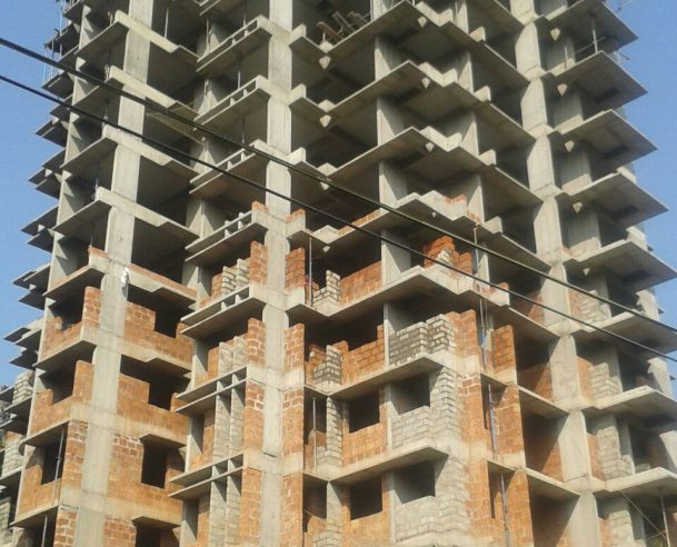 13TH FLOOR STRUCTURAL WORK COMPLETED 12.01.16