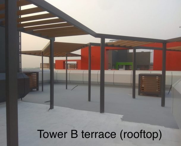 TOWER B - ROOF TOP : 28-02-2021