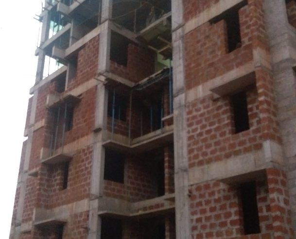 SEVENTH FLOOR STRUCTURAL WORK COMPLETED ON 17-11-2017