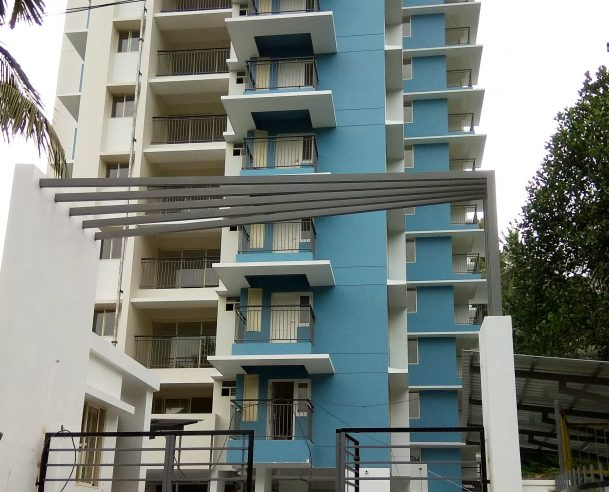 EXTERNAL PAINTING WORK COMPLETED (GROUND FLOOR 2ND COAT 80% COMPLETED) [01-12-2017]