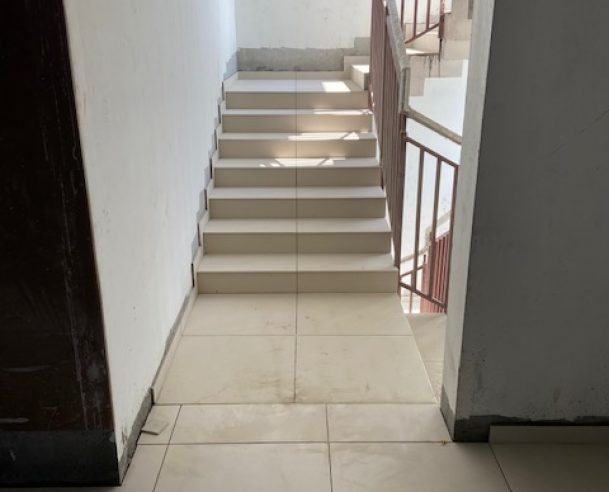 FIRE STAIRCASE FLOORING IN PROGRESS : 30-11-2020