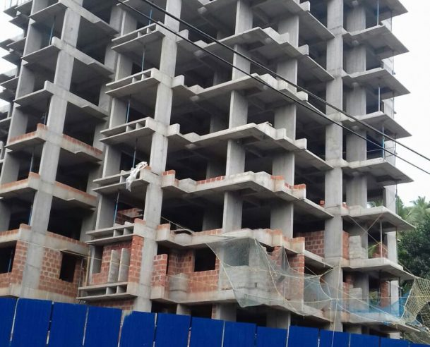11TH FLOOR STRUCTURAL WORK COMPLETED 12.12.15
