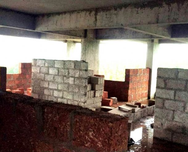 MASONRY WORK IN 5TH FLOOR : 31-07-2020