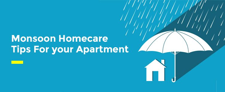 Monsoon Home Care Tips For your Apartment