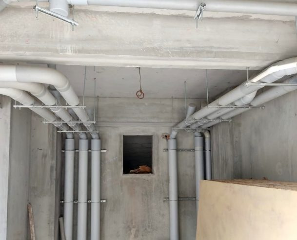 PLUMBING WORK AT GROUND FLOOR : 30-06-2020