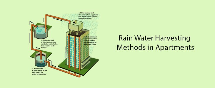 Rain Water Harvesting Methods in Apartments to Consider