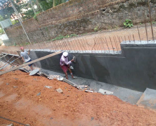 COMPOUND WALL WORK