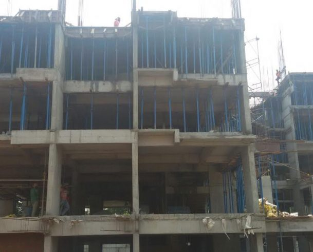 Second floor structural work has been successfully completed (on 17-10-2016)