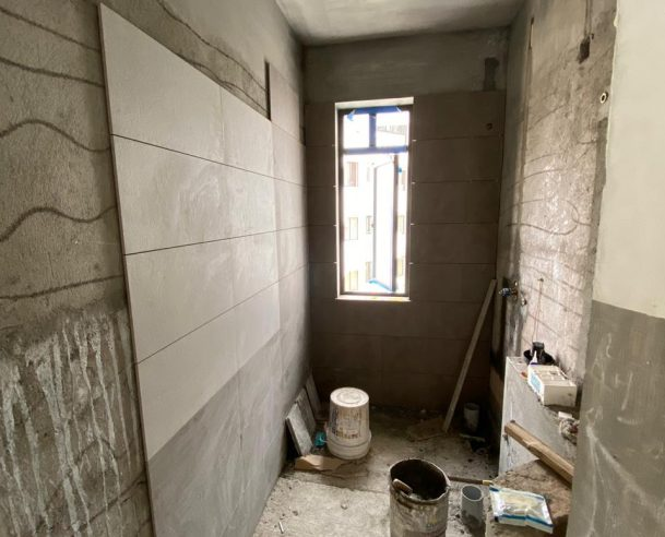 TOILET TILING - WORK IN PROGRESS 31-01-2020
