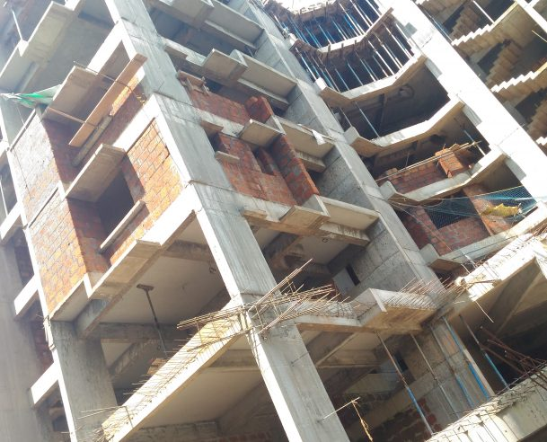 Tower A - SIXTH FLOOR STRUCTURAL  WORK COMPLETED ON 18-10-2017