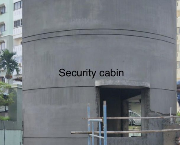 SECURITY CABIN : 31-12-2020