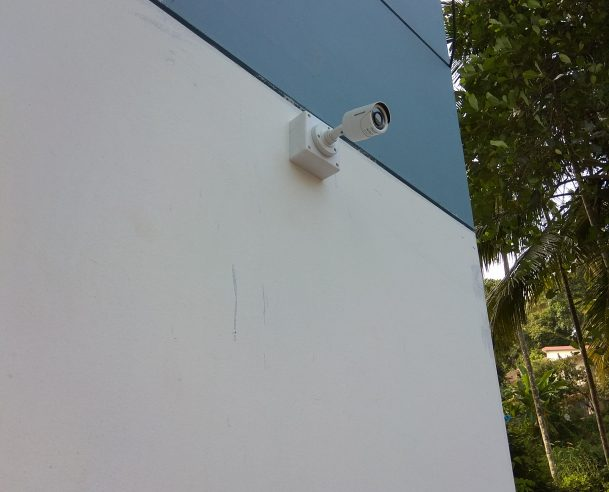 CCTV 80% WORK COMPLETED [01-11-2017]
