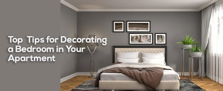 Top Tips for Decorating a Bedroom in Your Apartment