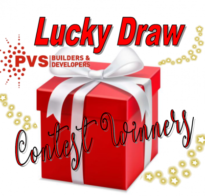 LUCKY DRAW CONTEST WINNERS