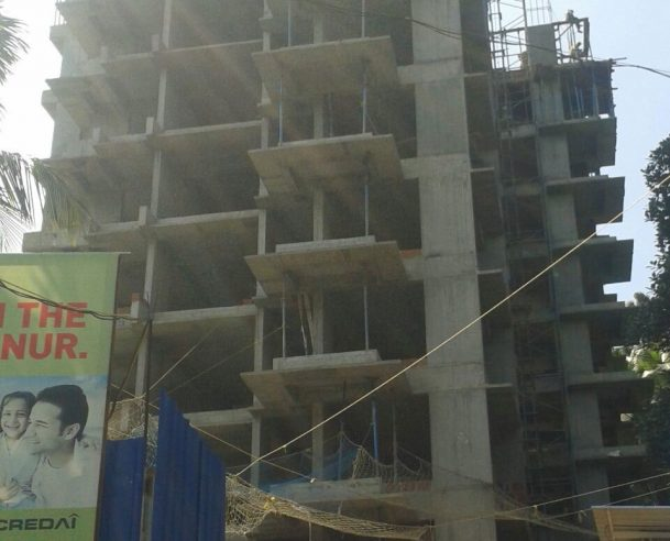 9TH FLOOR STRUCTURAL WORK COMPLETED 20/11/15