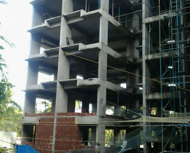 6TH FLOOR STRUCTURAL WORK COMPLETED 14/10/15