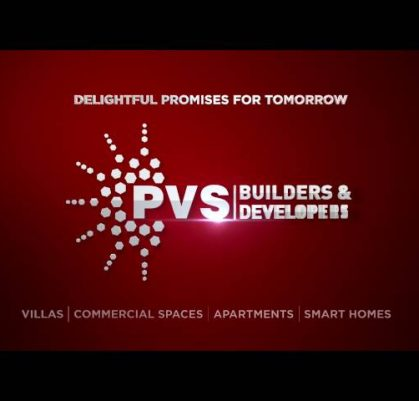 PVS Builders and Developers Logo