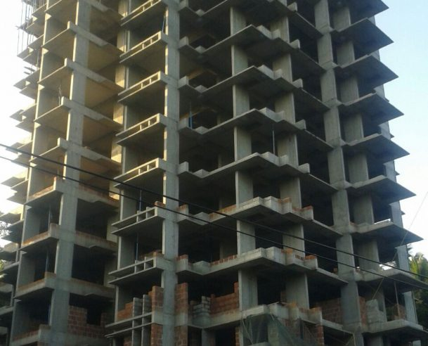 STRUCTURAL WORK OF 12TH FLOOR COMPLETED- 30-12-15